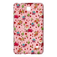 Red Christmas Pattern Samsung Galaxy Tab 4 (8 ) Hardshell Case