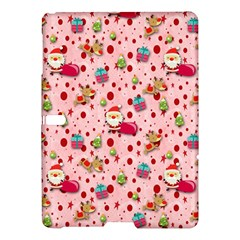 Red Christmas Pattern Samsung Galaxy Tab S (10 5 ) Hardshell Case