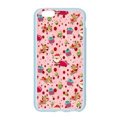 Red Christmas Pattern Apple Seamless iPhone 6/6S Case (Color)