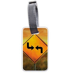 Direction Luggage Tags (Two Sides)