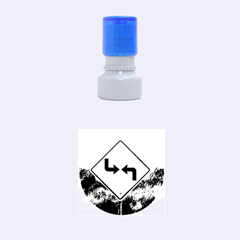 Direction Rubber Round Stamps (Small)