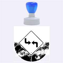 Direction Rubber Round Stamps (Large)