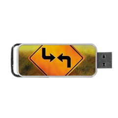 Direction Portable USB Flash (One Side)