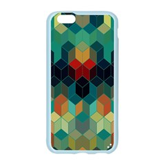 Colorful Modern Geometric Cubes Pattern Apple Seamless iPhone 6/6S Case (Color)
