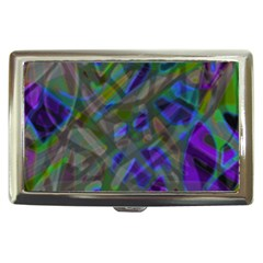 Colorful Abstract Stained Glass G301 Cigarette Money Cases
