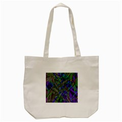Colorful Abstract Stained Glass G301 Tote Bag (Cream)
