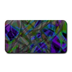 Colorful Abstract Stained Glass G301 Medium Bar Mats