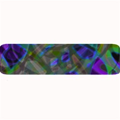 Colorful Abstract Stained Glass G301 Large Bar Mats