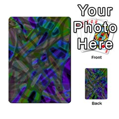 Colorful Abstract Stained Glass G301 Multi-purpose Cards (Rectangle)