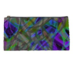 Colorful Abstract Stained Glass G301 Pencil Cases