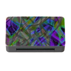 Colorful Abstract Stained Glass G301 Memory Card Reader With Cf