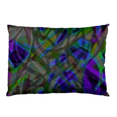 Colorful Abstract Stained Glass G301 Pillow Cases (two Sides)