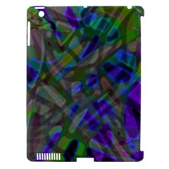 Colorful Abstract Stained Glass G301 Apple iPad 3/4 Hardshell Case (Compatible with Smart Cover)