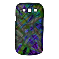 Colorful Abstract Stained Glass G301 Samsung Galaxy S III Classic Hardshell Case (PC+Silicone)