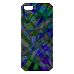 Colorful Abstract Stained Glass G301 Apple iPhone 5 Premium Hardshell Case