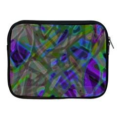 Colorful Abstract Stained Glass G301 Apple iPad 2/3/4 Zipper Cases