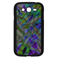 Colorful Abstract Stained Glass G301 Samsung Galaxy Grand DUOS I9082 Case (Black)