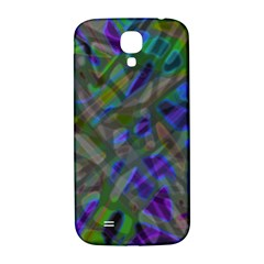 Colorful Abstract Stained Glass G301 Samsung Galaxy S4 I9500/I9505  Hardshell Back Case