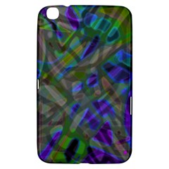 Colorful Abstract Stained Glass G301 Samsung Galaxy Tab 3 (8 ) T3100 Hardshell Case