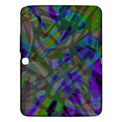 Colorful Abstract Stained Glass G301 Samsung Galaxy Tab 3 (10.1 ) P5200 Hardshell Case