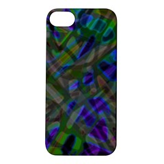 Colorful Abstract Stained Glass G301 Apple iPhone 5S Hardshell Case