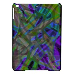 Colorful Abstract Stained Glass G301 iPad Air Hardshell Cases