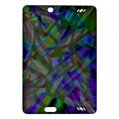 Colorful Abstract Stained Glass G301 Kindle Fire HD (2013) Hardshell Case