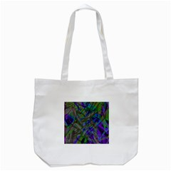 Colorful Abstract Stained Glass G301 Tote Bag (White)