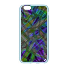 Colorful Abstract Stained Glass G301 Apple Seamless iPhone 6/6S Case (Color)