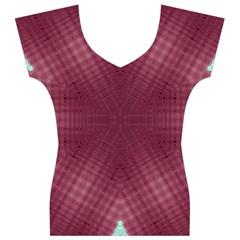 Arnfrid Hilde Women s V-Neck Cap Sleeve Top