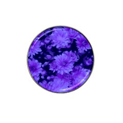 Phenomenal Blossoms Blue Hat Clip Ball Marker (4 pack)