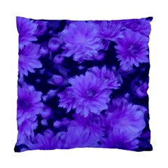 Phenomenal Blossoms Blue Standard Cushion Cases (Two Sides)