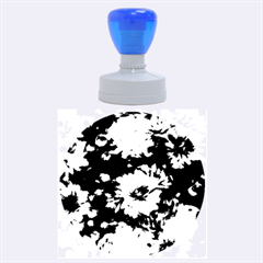 Phenomenal Blossoms Blue Rubber Round Stamps (Large)