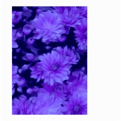 Phenomenal Blossoms Blue Small Garden Flag (Two Sides)