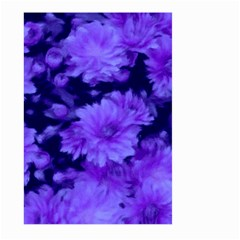 Phenomenal Blossoms Blue Large Garden Flag (Two Sides)