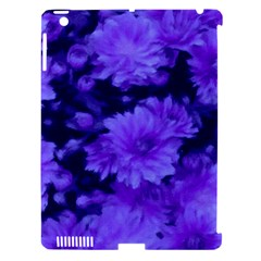 Phenomenal Blossoms Blue Apple iPad 3/4 Hardshell Case (Compatible with Smart Cover)