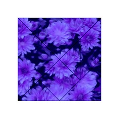 Phenomenal Blossoms Blue Acrylic Tangram Puzzle (4  X 4 )