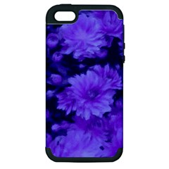 Phenomenal Blossoms Blue Apple iPhone 5 Hardshell Case (PC+Silicone)
