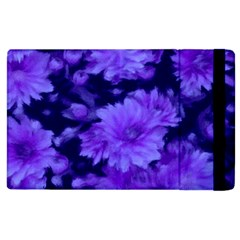 Phenomenal Blossoms Blue Apple iPad 3/4 Flip Case