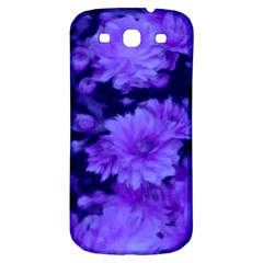 Phenomenal Blossoms Blue Samsung Galaxy S3 S III Classic Hardshell Back Case