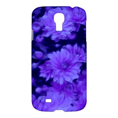 Phenomenal Blossoms Blue Samsung Galaxy S4 I9500/I9505 Hardshell Case