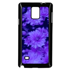 Phenomenal Blossoms Blue Samsung Galaxy Note 4 Case (black)