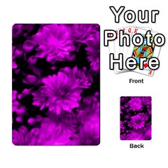 Phenomenal Blossoms Hot  Pink Multi Purpose Cards (rectangle)