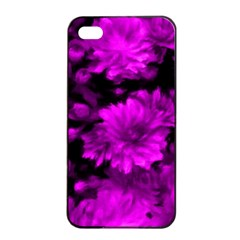 Phenomenal Blossoms Hot  Pink Apple iPhone 4/4s Seamless Case (Black)