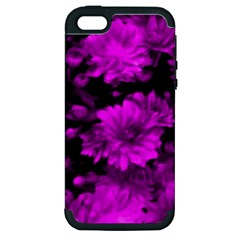 Phenomenal Blossoms Hot  Pink Apple iPhone 5 Hardshell Case (PC+Silicone)