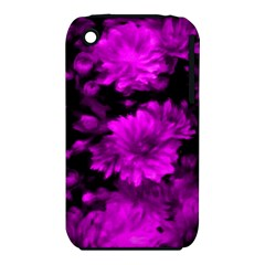 Phenomenal Blossoms Hot  Pink Apple iPhone 3G/3GS Hardshell Case (PC+Silicone)