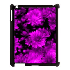 Phenomenal Blossoms Hot  Pink Apple iPad 3/4 Case (Black)