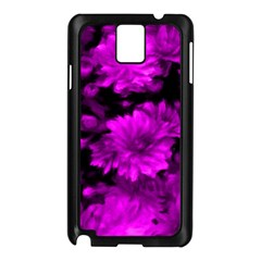 Phenomenal Blossoms Hot  Pink Samsung Galaxy Note 3 N9005 Case (Black)