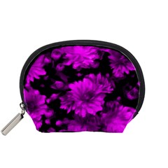 Phenomenal Blossoms Hot  Pink Accessory Pouches (Small)