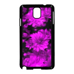 Phenomenal Blossoms Hot  Pink Samsung Galaxy Note 3 Neo Hardshell Case (Black)